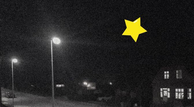 Jeg sagde et stjerneskud!